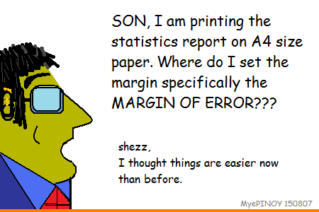 Margin of error - myepinoy's kartoon