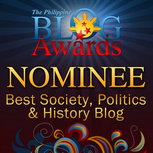 Philippine Blog Awards 2010 Nominees Badge