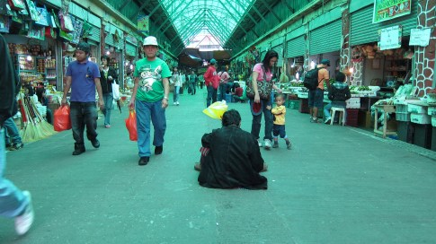 The man @ Baguio City public market
